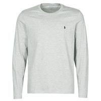 material Men short-sleeved t-shirts Polo Ralph Lauren L/S CREW-CREW-SLEEP TOP Grey