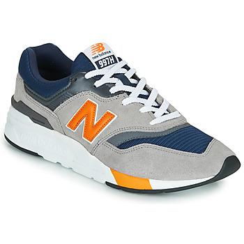 Shoes Men Low top trainers New Balance CM997HEX Navy / Grey / Orange