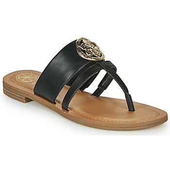 Shoes Women Flip flops Guess GENERA Black