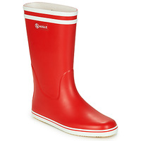 Shoes Women Wellington boots Aigle MALOUINE Red