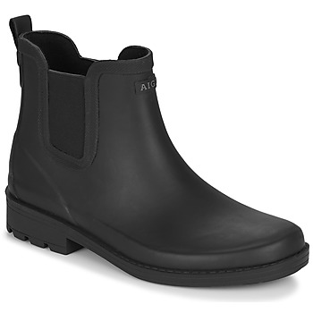 Shoes Women Wellington boots Aigle CARVILLE Black