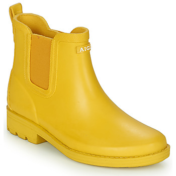 Shoes Women Ankle boots Aigle CARVILLE Yellow