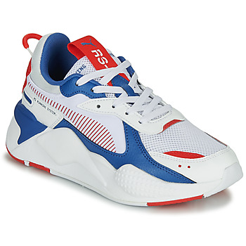 Shoes Children Low top trainers Puma RS-X White / Blue / Red