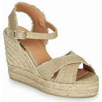 Shoes Women Sandals Castaner BROMELIA Gold