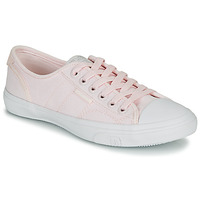 Shoes Women Low top trainers Superdry LOW PRO SNEAKER Pink
