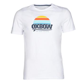 material Men short-sleeved t-shirts Oxbow M1TEKSO White
