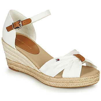 Shoes Women Sandals Tommy Hilfiger BASIC OPENED TOE MID WEDGE White