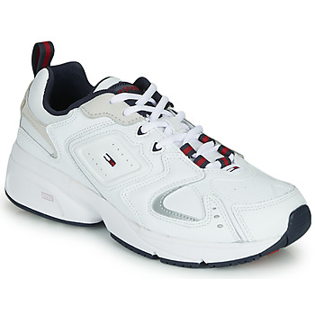 Shoes Men Low top trainers Tommy Jeans HERITAGE SNEAKER White