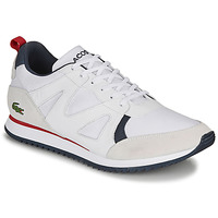 Shoes Men Low top trainers Lacoste AESTHET 120 2 SMA White / Blue / Red