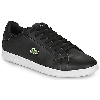 Shoes Men Low top trainers Lacoste GRADUATE BL 1 SMA Black
