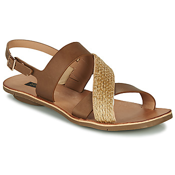Shoes Women Sandals Neosens DAPHNI Brown / Beige