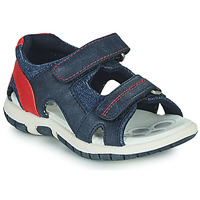 Shoes Boy Sports sandals Chicco FLORIAN Marine / Red