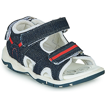 Shoes Boy Sports sandals Chicco COLBY Blue / Red