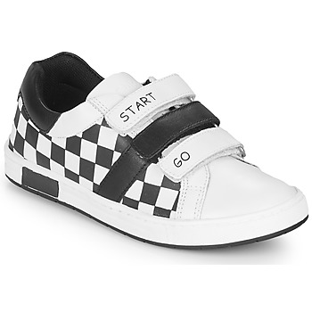 Shoes Boy Low top trainers Chicco CANDITO White / Black