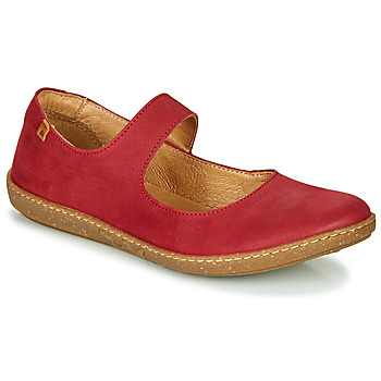 Shoes Women Ballerinas El Naturalista CORAL Red