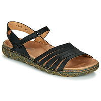 Shoes Women Sandals El Naturalista REDES Black