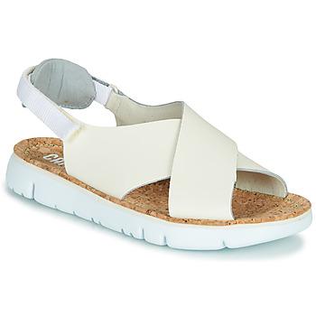 Shoes Women Sandals Camper Oruga Sandal Beige