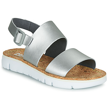 Shoes Women Sandals Camper ORUGA Silver
