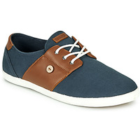 Shoes Men Low top trainers Faguo CYPRESS Marine / Brown