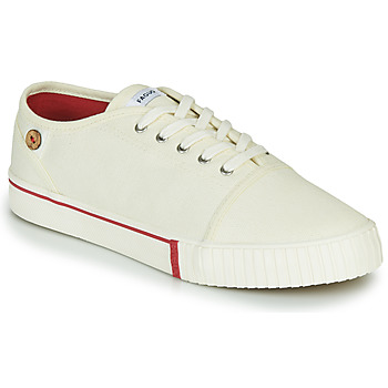 Shoes Low top trainers Faguo JUNIPER Ecru