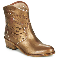 Shoes Women Ankle boots Fru.it COWGOLD Bronze