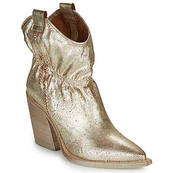 Shoes Women Ankle boots Fru.it LOVITE Gold
