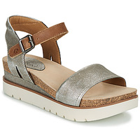 Shoes Women Sandals Josef Seibel CLEA 01 Silver