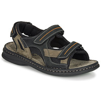 Shoes Men Sports sandals Josef Seibel MAX 64 Brown / Black