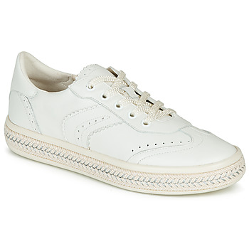 Shoes Women Low top trainers Geox D LEELU' White
