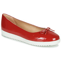 Shoes Women Ballerinas Geox D GENOVA Red