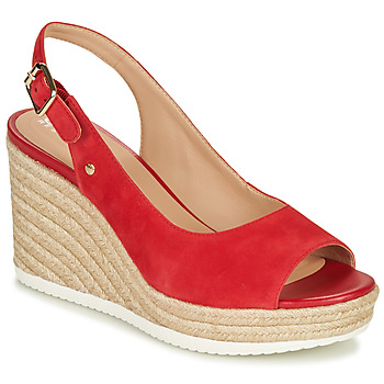 Shoes Women Sandals Geox D PONZA Red