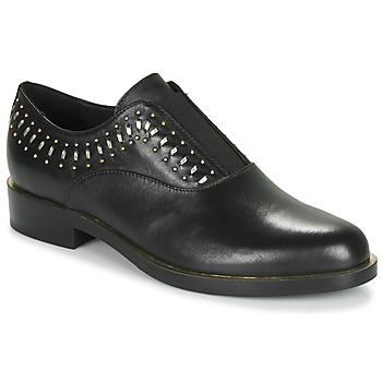 Shoes Women Derby shoes Geox D BROGUE S Black