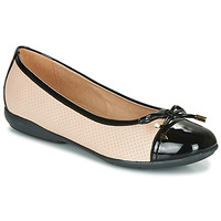 Shoes Women Ballerinas Geox D ANNYTAH Beige / Black