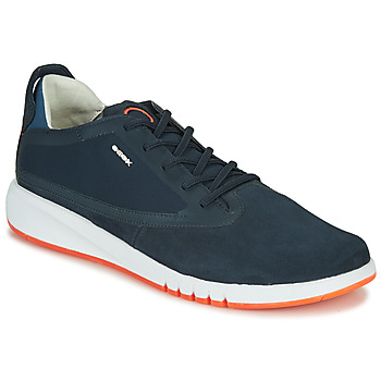 Shoes Men Low top trainers Geox U AERANTIS Marine