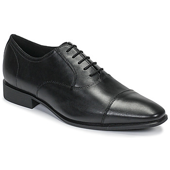Shoes Men Brogue shoes Geox UOMO HIGH LIFE Black