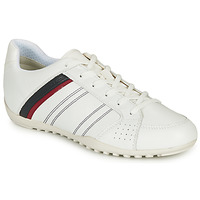 Shoes Men Low top trainers Geox U WELLS White / Marine / Red