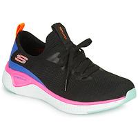 Shoes Women Fitness / Training Skechers SOLAR FUSE Black / Pink / Blue