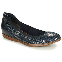 Shoes Women Ballerinas Tamaris JOYA Marine / Silver
