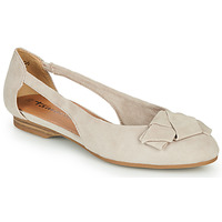 Shoes Women Ballerinas Tamaris RUNA Beige