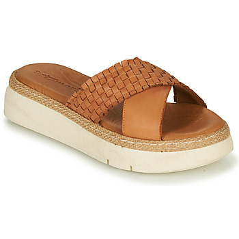 Shoes Women Mules Tamaris KASSITA Brown