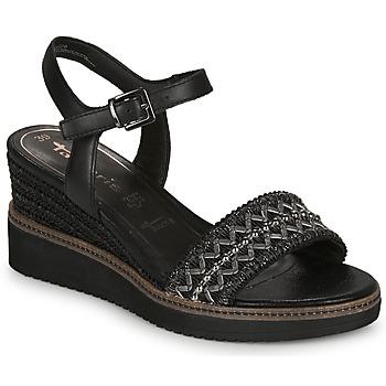 Shoes Women Sandals Tamaris ALIS Black