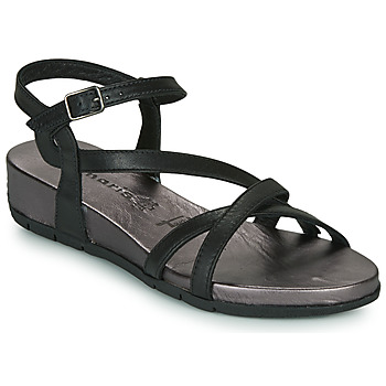 Shoes Women Sandals Tamaris  Black
