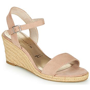 Shoes Women Sandals Tamaris LIVIAN Pink