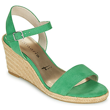 Shoes Women Sandals Tamaris LIVIA Green