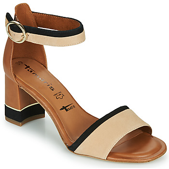 Shoes Women Sandals Tamaris DALINA Cognac
