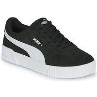 Shoes Women Low top trainers Puma CARINA Black