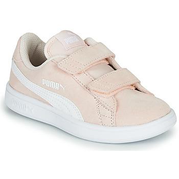 Shoes Children Low top trainers Puma Puma Smash v2 SD V PS Pink