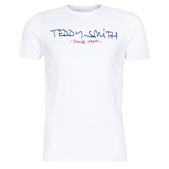 material Men short-sleeved t-shirts Teddy Smith TICLASS White