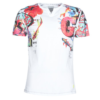 material Men short-sleeved t-shirts Desigual LIAN Multicolour