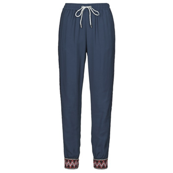material Women Wide leg / Harem trousers Desigual ISABELLA Marine